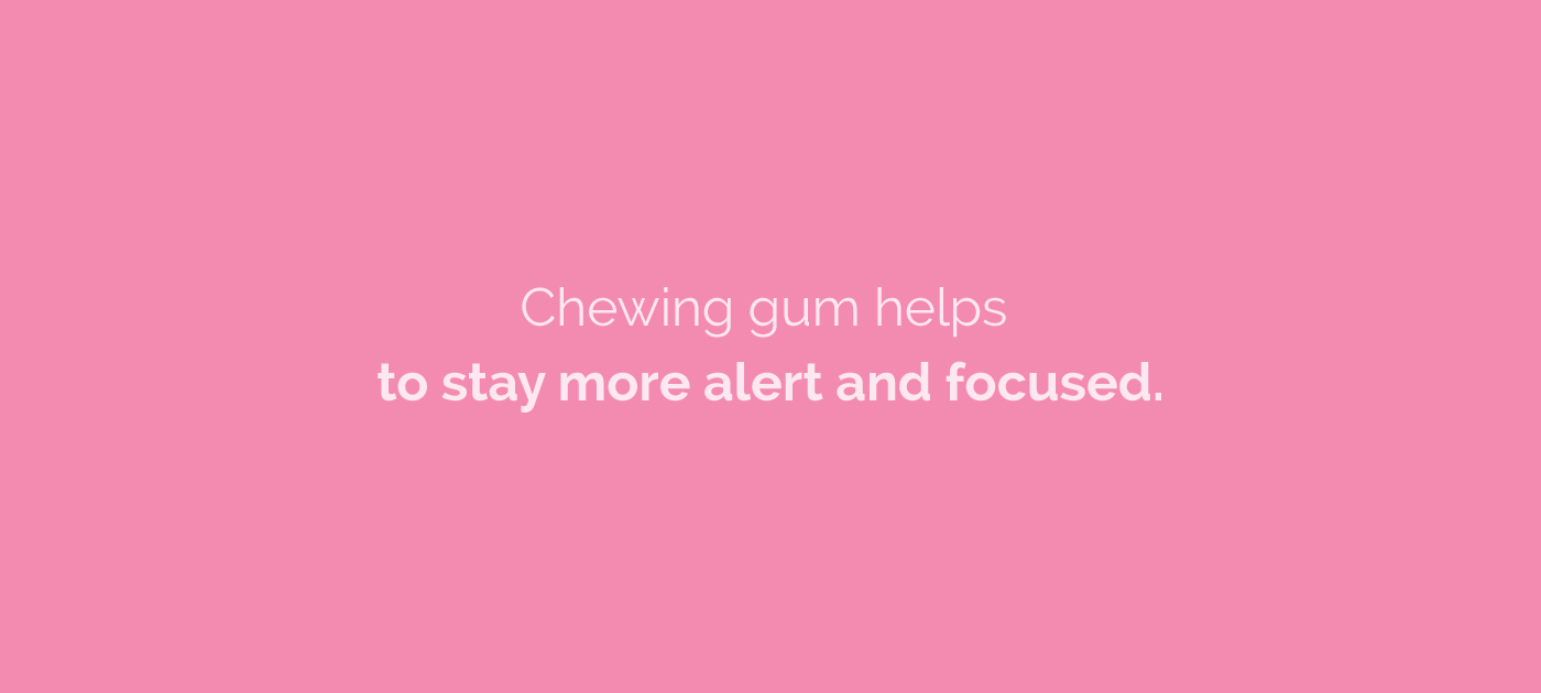 Chewing gum for enhanced productivity - a myth? - Noisli Blog